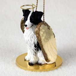 Border Collie Angel Dog Ornament by Conversation Concepts