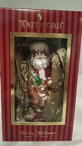 Waterford Santas Rocking Horse Holiday Ornament