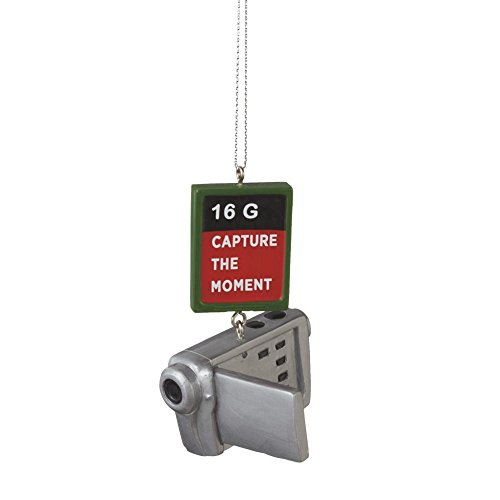 Capture the Moment Camcorder Movie Camera Ornament