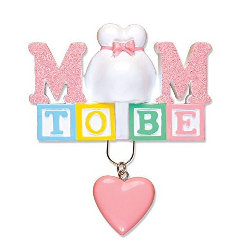 Mom To Be Personalized Christmas Tree Ornament