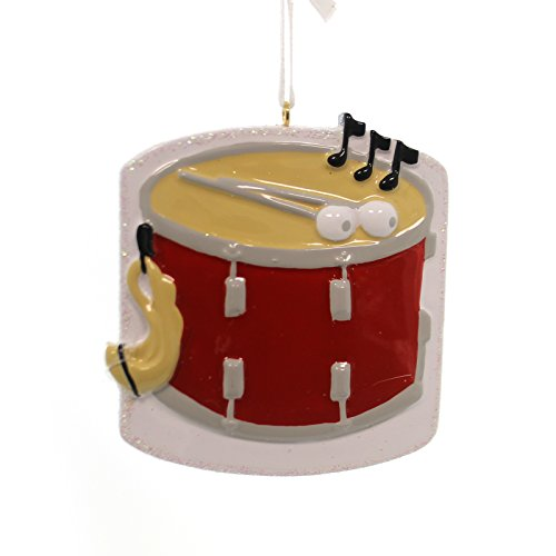 Snare Drum Personalized Christmas Tree Ornament