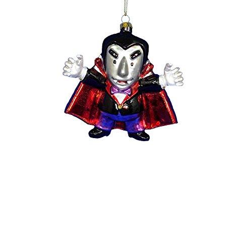 Kurt Adler 4.375″ Glass Vampire Ornament