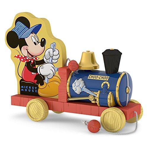 Hallmark 2016 Choo-Choo Mickey Mouse Train Ornament