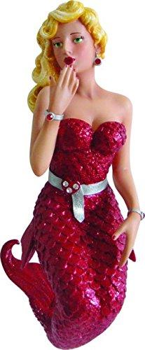 December Diamonds Lovie Mermaid Ornament – Red