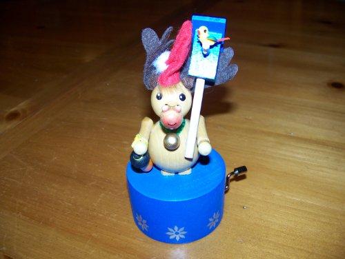 Steinbach Gm Bh Mrs Santa Musical Ornament