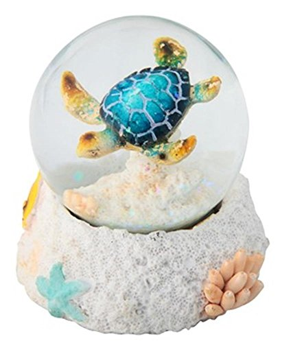 StealStreet SS-G-28063 3.25″ Blue Sea Turtle Water Snow Globe Collectible Figurine