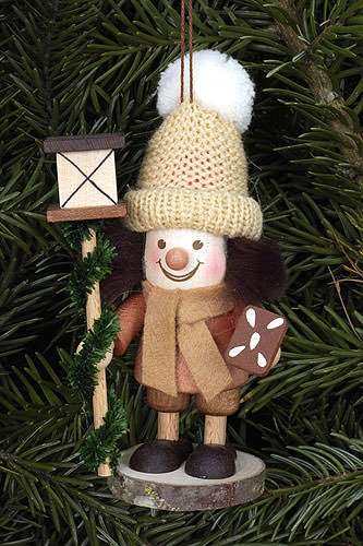 Tree ornaments Tree ornament Lanternman natural – 11,5cm / 5 inch – Christian Ulbricht