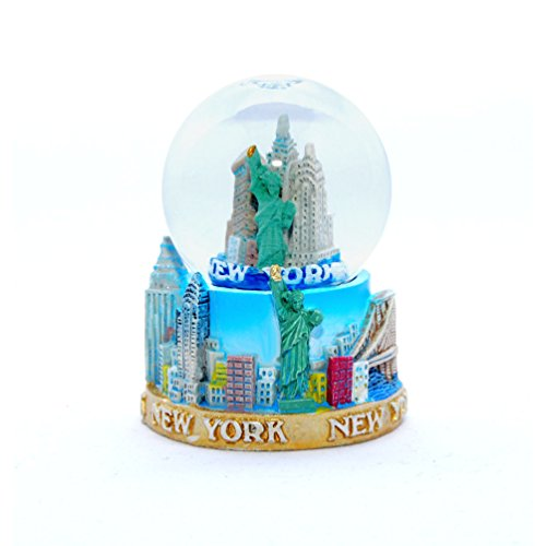 New York City Mini NY NYC Snow Globe Souvenir 2.5″ Collection by Favorict (Style F)