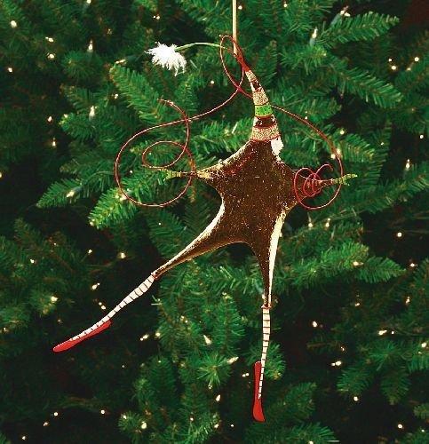 Patience Brewster Krinkles – Tin Rejoicing Star Orn (30419)