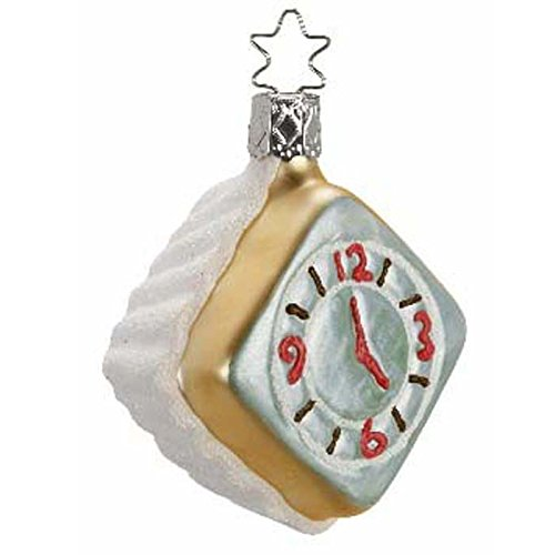 Five O'Clock Somewhere Clock Face Christmas Ornament