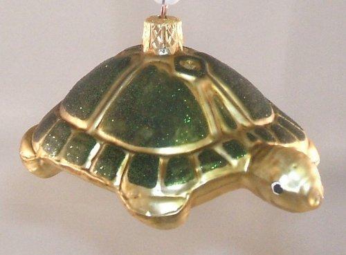 Turtle Polish Glass Christmas Tree Ornament Decoration