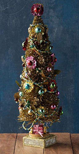Gold Starburst Foil Tree