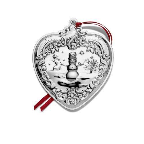 Wallace 2010 Grande Baroque Heart Ornament (19th Edition)
