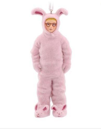 Hallmark A Christmas Story Ralphie in Bunny Suit Christmas Ornament – Ralphie's Pink Nightmare by Hallmark