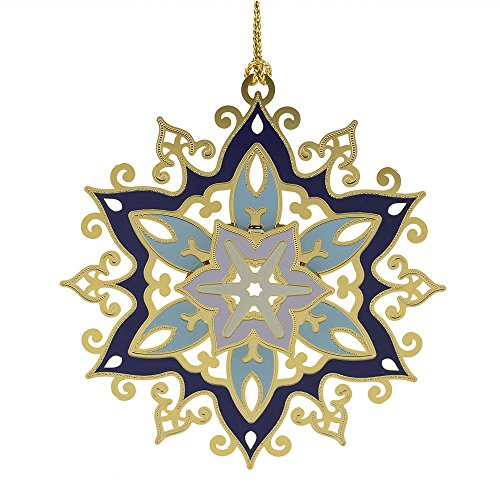 ChemArt Glistening Snowflake Ornament