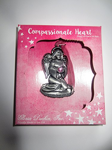 "Gloria Duchin Angel Christmas Ornaments ""Compassionate Heart"""