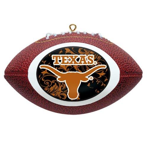 NCAA Texas Longhorns Mini Replica Football Ornament