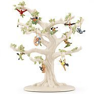 Lenox Garden Bird 10 Piece Ornament Set (Tree not Included) by Lenox