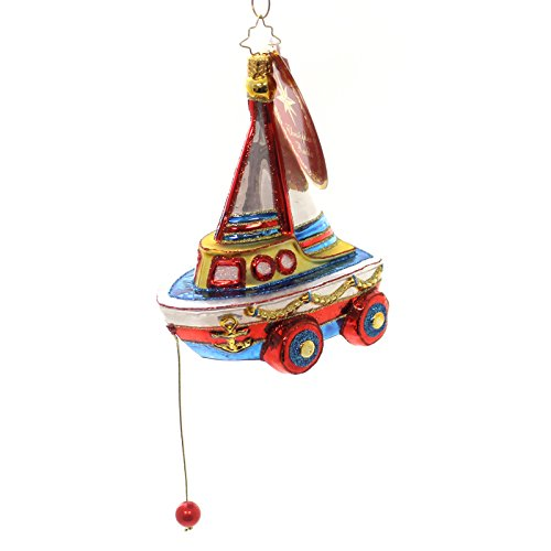 Christopher Radko Just Add Water Toys & Games Christmas Ornament