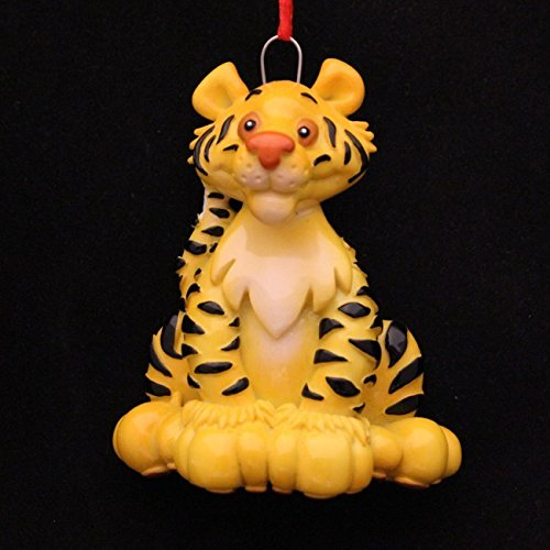 2215 Tiger Hand Personalized Christmas Ornament