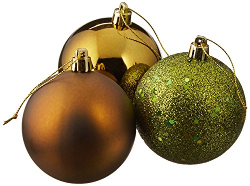 Vickerman 275″ Olive 4 Finish Ball Ornament 20 per Box