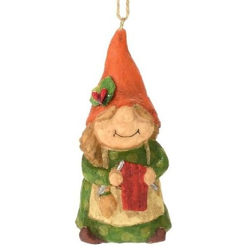 Department 56 for The Holidays Knitting Gnome Ornament