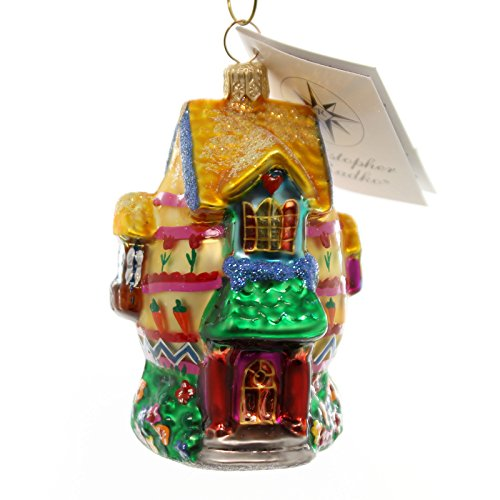 Christopher Radko EASTER INN Glass Ornament Egg House Spring 991890