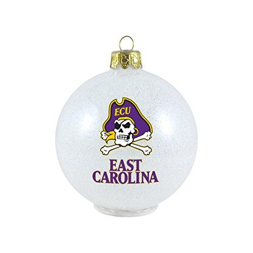 NCAA East Carolina Pirates LED Small Ornament