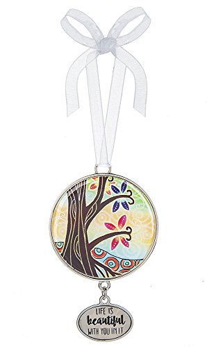 Life is Beautiful With You In It Tree of Life 3 Inch Hanging Ornament