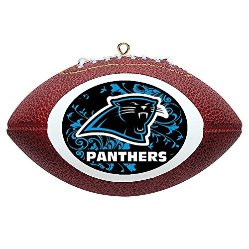 Offically Licensed Carolina Panthers Replica Football Ornament