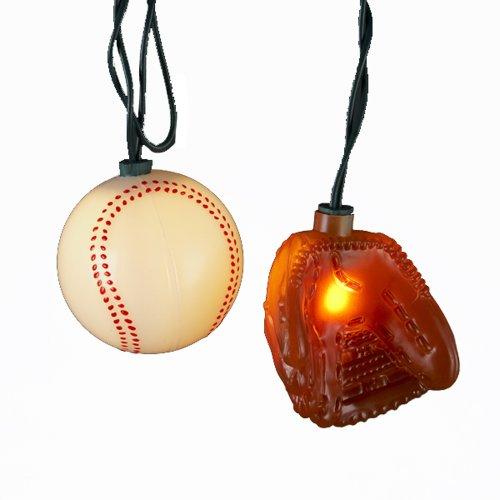 Kurt Adler UL 10-Light Ball and Glove Light Set
