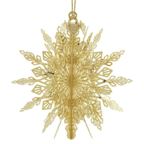 ChemArt/Beacon Design 2017 3-D Snowflake Christmas Ornament