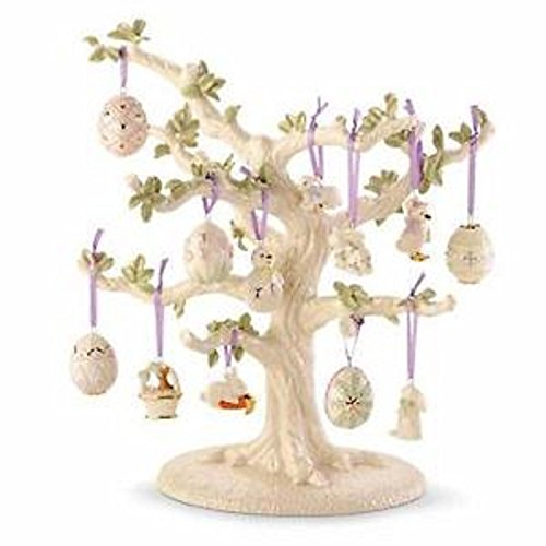Lenox Easter Miniature Tree & 12 Ornaments Set Eggs Bunny Lamb Chick Ducks