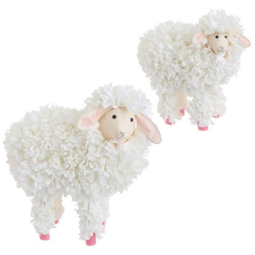 RAZ Imports – 11.5″ Spring Sheep (Set of 2)