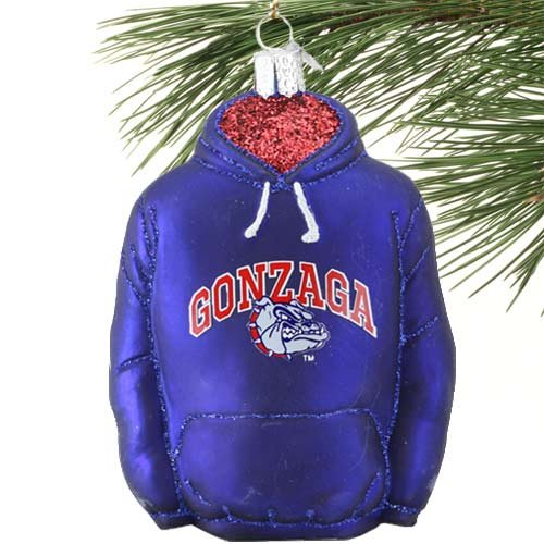 Old World Christmas Gonzaga Hoodie Glass Blow Christmas Ornament