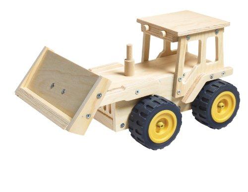 Red Tool Box Bulldozer Building Kit