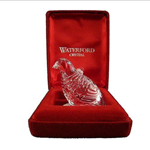 Waterford 12 Days of Christmas 1995 Annual Ornament – Partridge in a Pear Tree