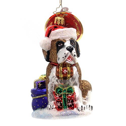 Christopher Radko Gentle Giant Animal Christmas Ornament