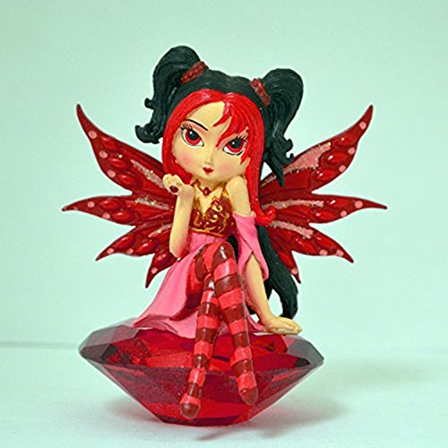 The Bradford Exchange Ruby Charm Fairy Figurine Collection By Jasmine Becket-Griffith