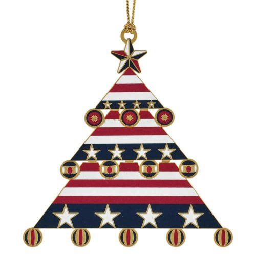 Chemart/Beacon Design Americana Christmas Tree Ornament