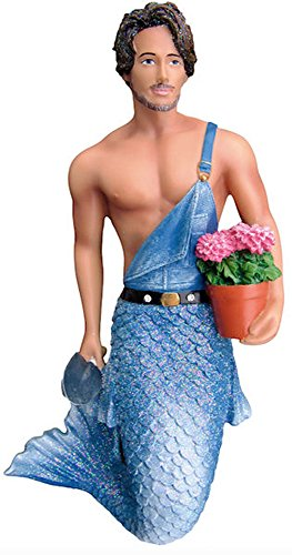 December Diamonds Home Grown Gardener Merman Flowers Christmas Ornament 5555039