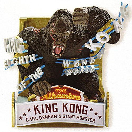 Carlton Heirloom King Kong Christmas Ornament #CXOR-109R