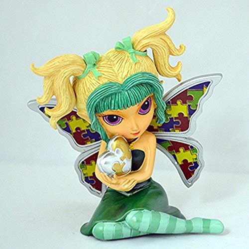 The Bradford Exchange Interesting Dream Figurine Magic of Caring Collection By Jasmine Becket-Griffith