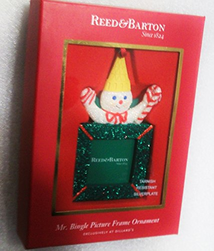 Mr. Bingle Picture Frame Ornament Reed & Barton Dillard's