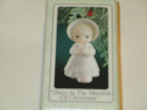 "Precious Moments ""Share in the Warmth of Christmas"" Ornament"
