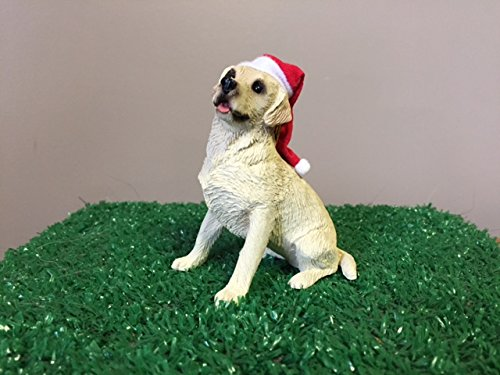 Sandicast Ornament – Labrador Retriever, Yellow with lights