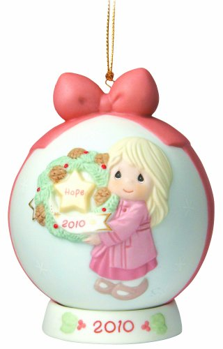 """Precious Moments """"My Hope Is In You"""" Ball Ornament"""