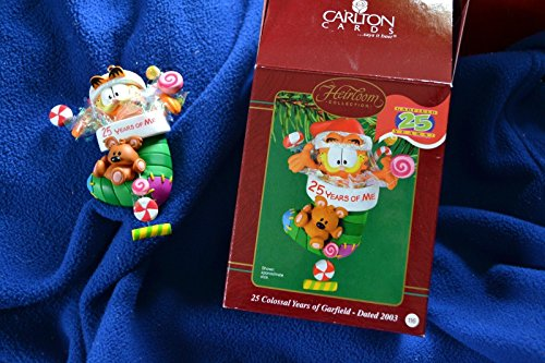 Carlton Heirloom 25 Colossal Years of Garfield 2003 Ornament