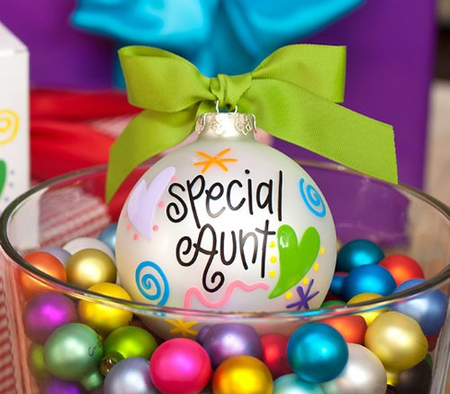 Special Aunt Ornament by Coton Colors