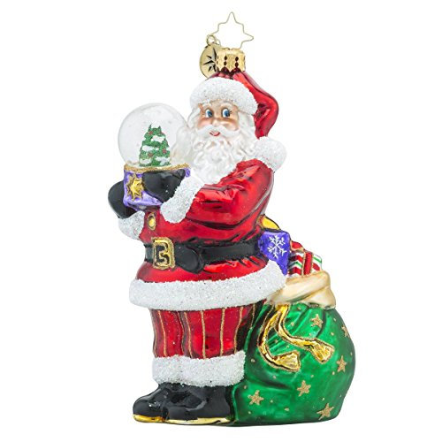 Christopher Radko Winter Land Treasure Santa and Toys Christmas Ornament